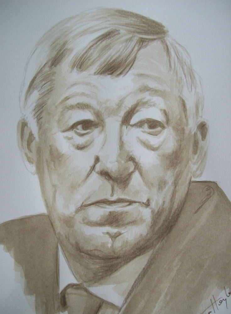 Alex Ferguson by Tom-Heyburn